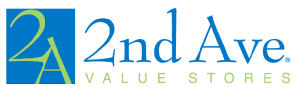 2nd Ave Value Stores Logo
